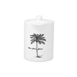 West Palm Beach及びやし白黒デザイン