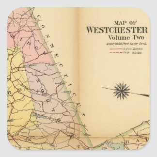 Westchester County、ニューヨーク スクエアシール