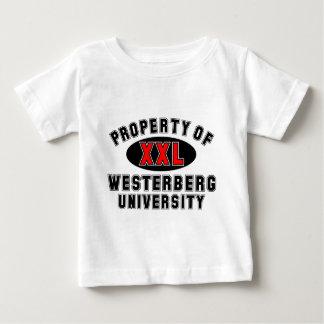 Westerberg大学の特性 ベビーTシャツ