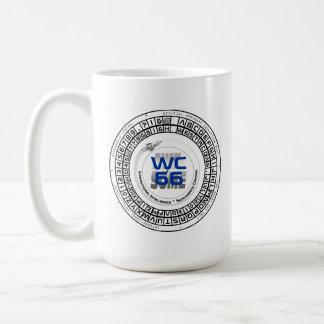 Westercon 66のデコーダーの車輪のマグ コーヒーマグカップ