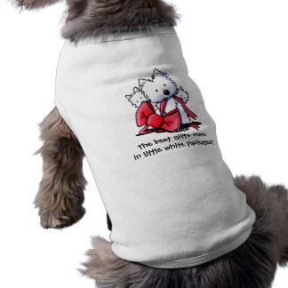 WestieのギフトペットTシャツ ペット服