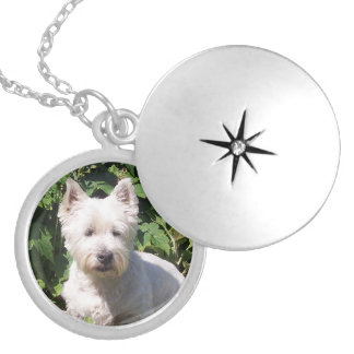 Westieのネックレス ロケットネックレス