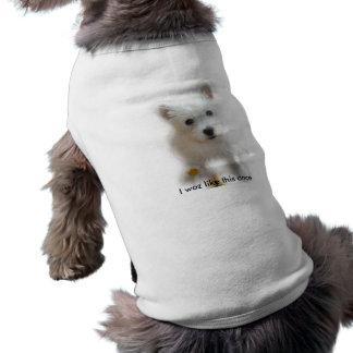 Westieのベスト ペット服