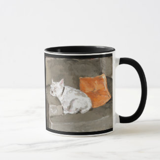 Westieのマグ マグカップ