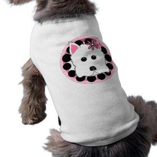 Westieの女の子 ペット服