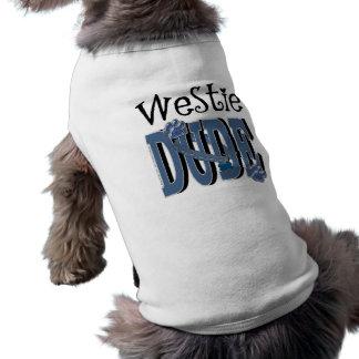 Westieの男 ペット服