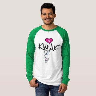 Westieをぶら下げているKiniArtファン Tシャツ