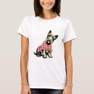 westie犬西の高地テリアのTシャツ Tシャツ