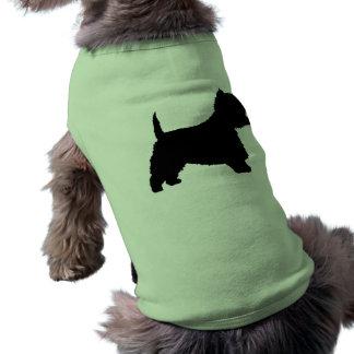 Westie犬(黒) ペット服