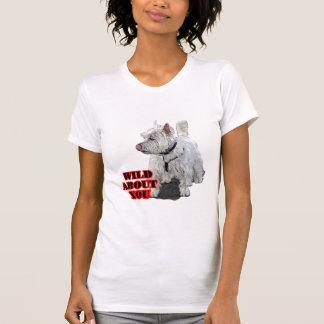 Westie白いテリア Tシャツ