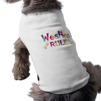 Westiesの規則 ペット服