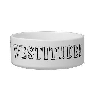 Westitudeの©犬ボール-黒 ボウル