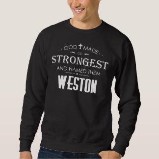 WESTONのためのクールなTシャツ スウェットシャツ