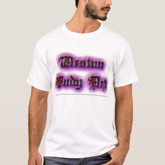 Westonのボディーアート Tシャツ