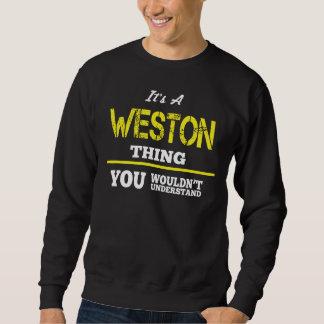 WESTONのTシャツがある愛 スウェットシャツ