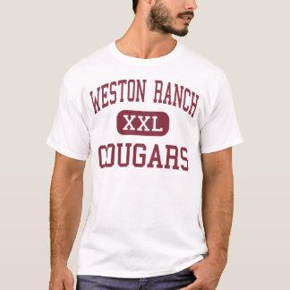 Weston牧場-クーガー-高Stockton Tシャツ