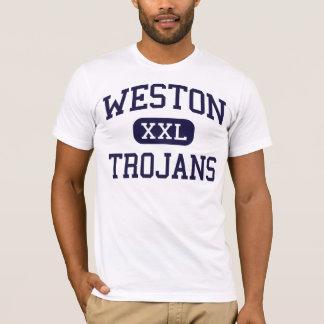 Weston -トロイ人-高Westonコネチカット Tシャツ