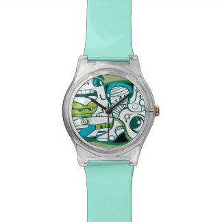 WEWEXによって組合せの時間に入って下さい 腕時計