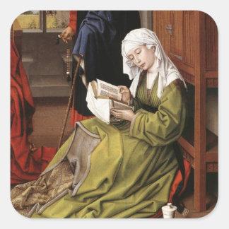 Weyden: Magdaleneの読書、 スクエアシール