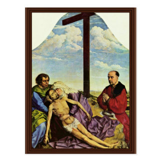 Weyden RogierヴァンDer (Bes著哀悼の片 ポストカード