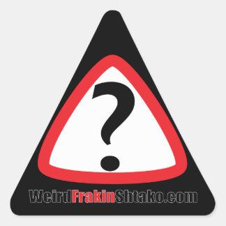 WFSのロゴのスワッグ 三角形シール
