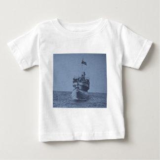 Whalebackの乗客の汽船クリストファー・コロンブス ベビーTシャツ