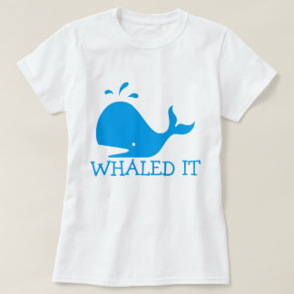 Whaledそれ Tシャツ