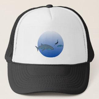 Whalesharkおよび自由なダイバー キャップ