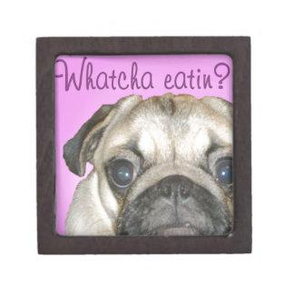 Whatcha Eatin 2のパグ ギフトボックス