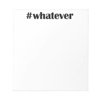 #whateverのメモ帳-声明、引用文 ノートパッド
