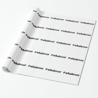 #whateverの包装紙-声明、引用文 ラッピングペーパー