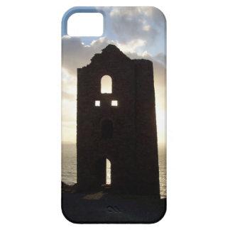 Wheal Coates鉱山のコーンウォールイギリスの日没 iPhone SE/5/5s ケース