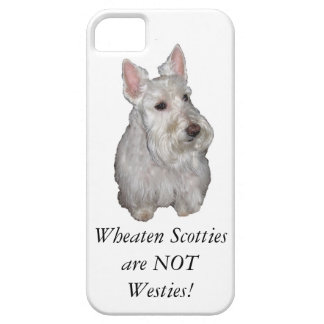 WheatenスコッチテリアはWestiesではないです! Case-Mate iPhone 5 ケース