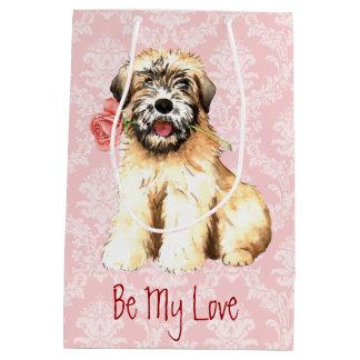 Wheatenバレンタインのバラ ミディアムペーパーバッグ