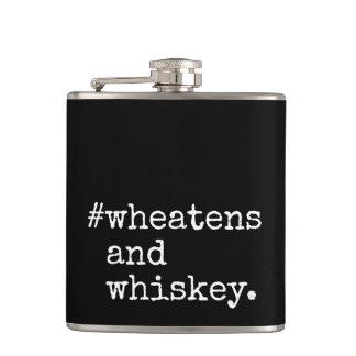 Wheatensおよびウィスキー フラスク