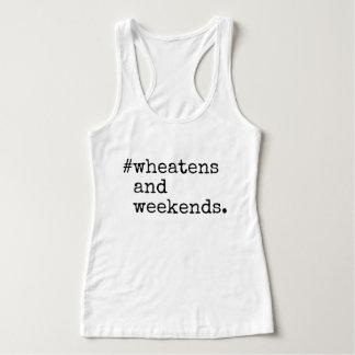 Wheatensおよび週末 タンクトップ