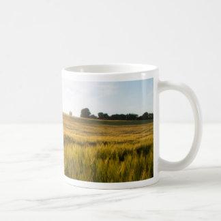 wheatfield上の日曜日 コーヒーマグカップ
