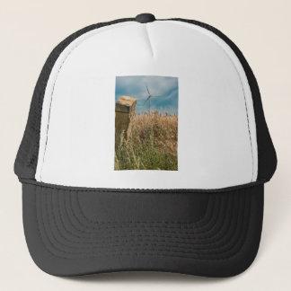 WheatfieldsおよびWindfarms キャップ