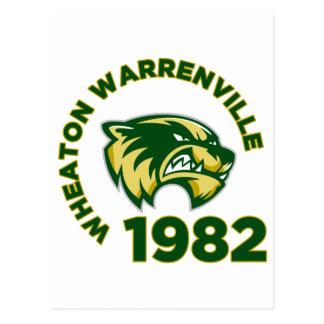 Wheaton Warrenvilleの高等学校 ポストカード