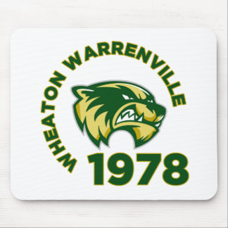 Wheaton Warrenvilleの高等学校 マウスパッド