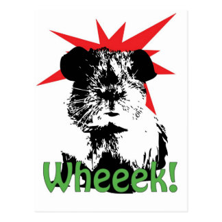 wheeek! ポストカード