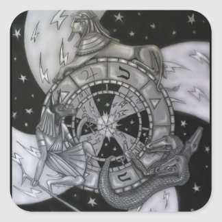 Wheel of Fortune スクエアシール