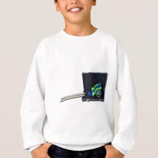 WheelchairRampInBriefcase062115 スウェットシャツ