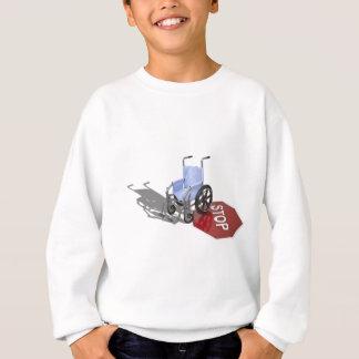 WheelchairStopSign103110 スウェットシャツ