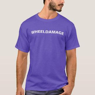 WheelDamageの文字 Tシャツ