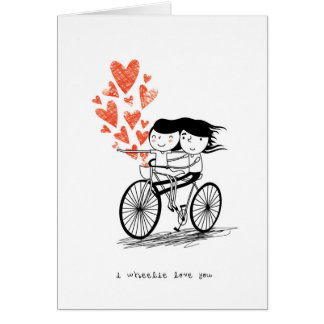 Wheelie愛 カード