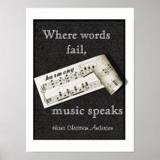 Where Words Fail -- Poster Art ポスター