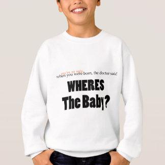 Wheresベビー スウェットシャツ