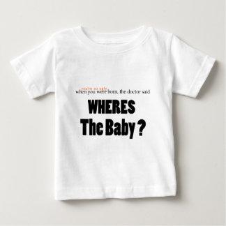 Wheresベビー ベビーTシャツ