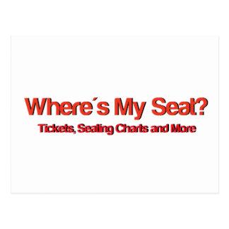 Wheres私の座席Logo.jpg ポストカード